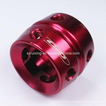 Peça Usinada CNC para Vários Uso Indutrial (Torneamento e Fresagem)