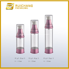 Plastic Cosmetic Cream Pump Bottle