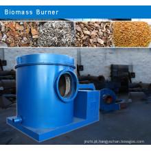 Wide Adaptability Corn Stalk/Wheat Stalk /Peanut Shell Biomass Burner with High Heating Temperature