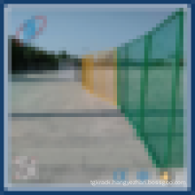 Isolation sheet metal temporary fence