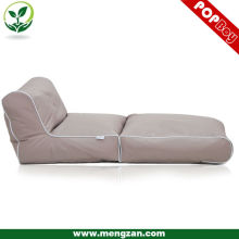 Foldable TV bean bag recliner set, Comfy living room bean bag sofa bed