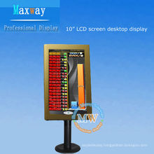desktop 10.2 inch lcd display for casino