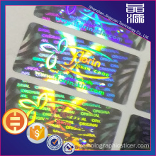 3D Geniue Secure Hologram Label Sticker