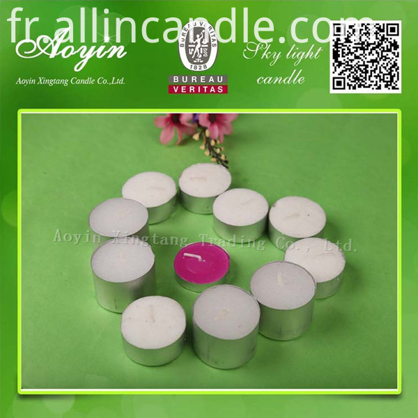COLOR TEALIGHT CANDLE13