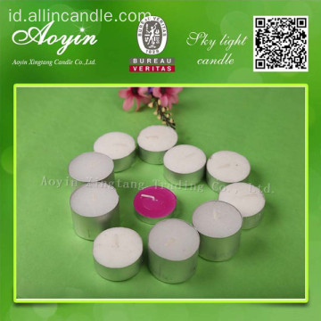 Lilin romantis / lilin multi-warna / tealight lilin