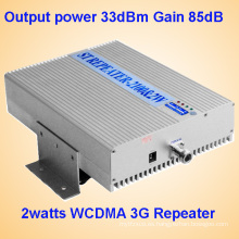 5watts 3G repetidor celular Amplificador 3G inalámbrico equipo 5watts Repetidor RF repetidor fortalecer dispositivo de red móvil