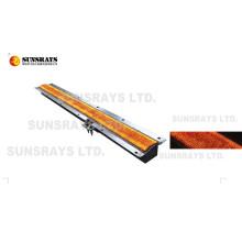 Quemador infrarrojo de fibra de metal para calentador industrial