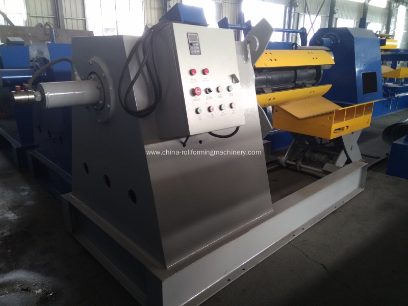2018 5 tons automatic hydraulic decoiler