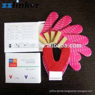 30u 50u 100u thick red dental Horse shoes Articulating paper