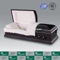 LUXES alta qualidade caixão cremação caixão de madeira