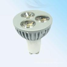 2014 nuevos productos llevó la luz del punto 3w mr16 gu10 en China