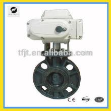 válvula de mariposa del motor de grado industrial con actuador para el sistema de agua de autocontrol, equipo mini-auto industrial