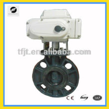 vanne papillon de moteur de catégorie industrielle avec l'actionneur pour le système de l'eau d'auto-contrôle, équipement industriel mini-automatique