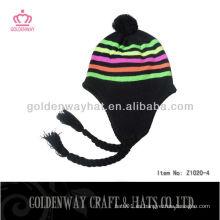 La novedad popular de encargo del invierno hizo punto el sombrero