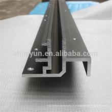 Profil d'extrusion de traitement en profondeur CNC en aluminium