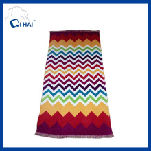 Printed Cotton Tassels Beach Towel (QHB7745)