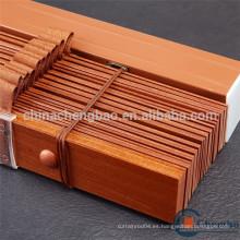 Persianas de ventana de madera de la venta 2016 caliente con la cinta durable de la escala
