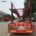 Semi-remorque de transport de véhicules de transport de voitures longues