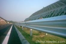 galvanized crash barrier