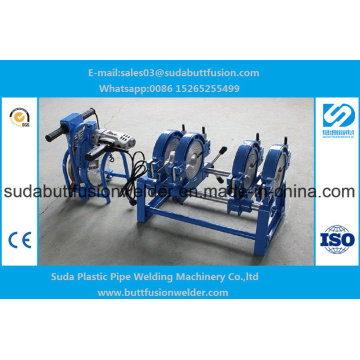 50mm/250mm HDPE Manual Butt Fusion Welding Machine 4 Rings