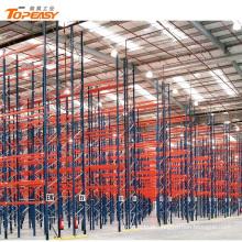 Rack de armazenamento seletiva de armazém pesados em shandong