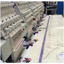 A máquina principal do bordado de 6 tampões automatizou a máquina do bordado de 12 agulhas