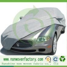 Tissu non-tissé de pp Spunbond pour la couverture de voiture