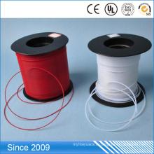 Упорный высокотемпературный гибкий молочно-Белый тефлон PTFE трубки