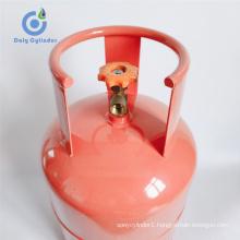 Customized Design Propane LPG Gas Cylinder 11kg Best Safety Gas Tank