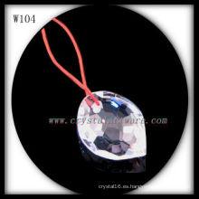 collar de cristal W104