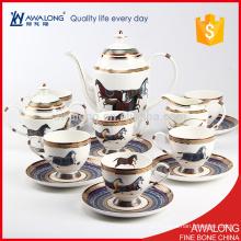 Royal Style Bone China xícaras de café para 6 pessoas tem um belo Design