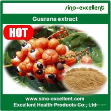 Extrato de guaraná natural de alta qualidade em pó