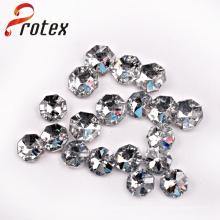 Zwei Löcher Acryl Nähen Perlen, Mode Acryl Perlen für Kleidungsstück Zubehör