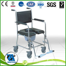 Medical Lightweight Commode Wheelchair