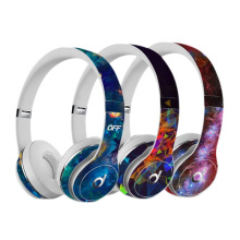 Protective skin wrap for beats Solo 2 headset sticker cover universal vinyl decal skin for beats Solo 3 Wireless Headphone