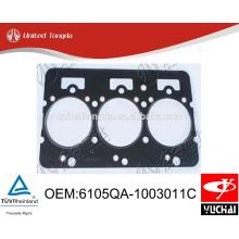 6105QA-1003011C Yuchai YC6105 junta de cabeça de cilindro original para caminhão chinês