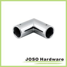 Cuarto de baño de cristal puerta de la barra de conectores de acero inoxidable AC007