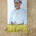 Oman National Day Digital Printing velvet warm scarf