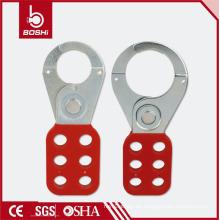 """BOSHI Lockout / Tagout PA Beschichteter Stahlhasp mit 1 """"Backe (BD-K01)"""