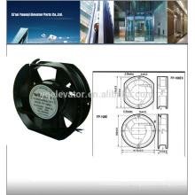 Ventilador de elevador FP-108EX-S1-B Ventilador de flujo transversal de elevador AC110V