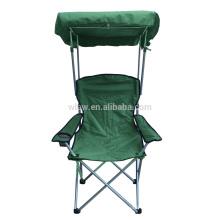 Adjustable beach chair sun shade
