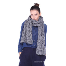 Acrylic Knitted Women′s Scarf