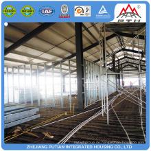 Kundenspezifische Fertig Moderne Gebäude Licht Stahl Struktur