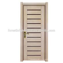 Buena calidad Diseño de puerta de melamina de estilo desde la puerta del dormitorio