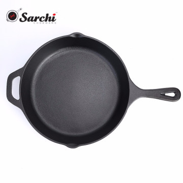 12 Inch Pre-seasoned Cast Iron Serving Skillet