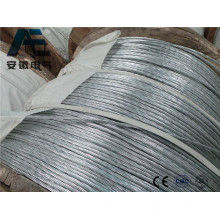 Стандартная ASTM оцинкованная стальная проволока для ACSR