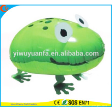 New Products Foil Balloon Walking Pet Balloon Toy Frog for Kids' Gift