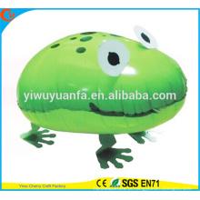 Novos produtos Foil Balloon Walking Pet Balloon Toy Frog para presente para crianças