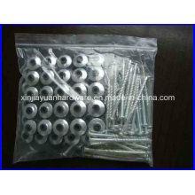 Hot DIP Galvanized Roofing Screws with Washer