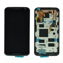 Teléfono móvil de repuesto LCD para Moto X2 con marco de montaje